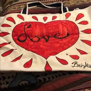 Brighton Love Tote Bag
